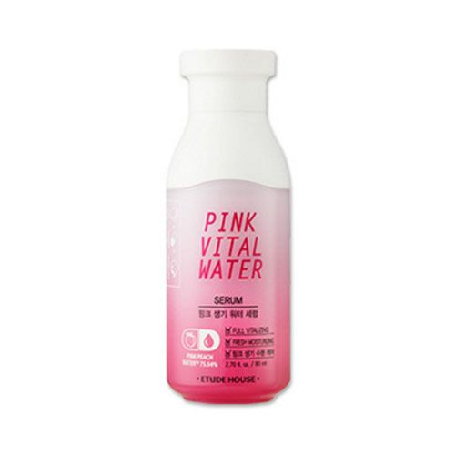 Сыворотка с экстрактом персика Etude House Pink Vital Water Serum цена
