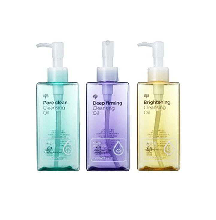 Серия гидрофильных масел The Face Shop Oil Specialist Cleansing