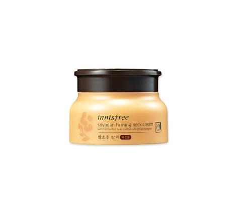 Восстанавливающий крем для шеи и декольте Innisfree Soybean Firming Neck Cream