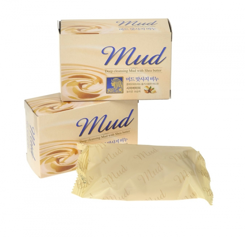 Мыло с маслом Ши Mukunghwa Mud Massage Soap