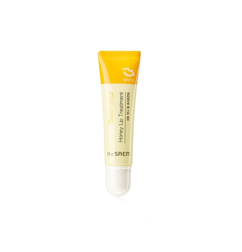 Бальзам для губ с мёдом The Saem Saemmul Honey Lip Treatment карандаши the saem saemmul smudge lip crayon rd02