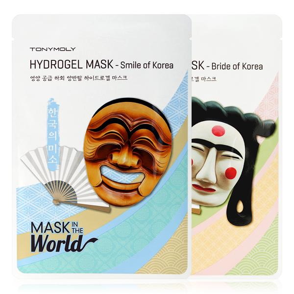 Серия тканевых масок с рисунком Tony Moly