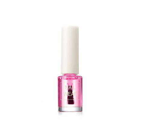 Базовое покрытие для ногтей The Saem The Saem Nail Wear Tone-Up Pink Base лак для ногтей the saem nail wear dry rose saem
