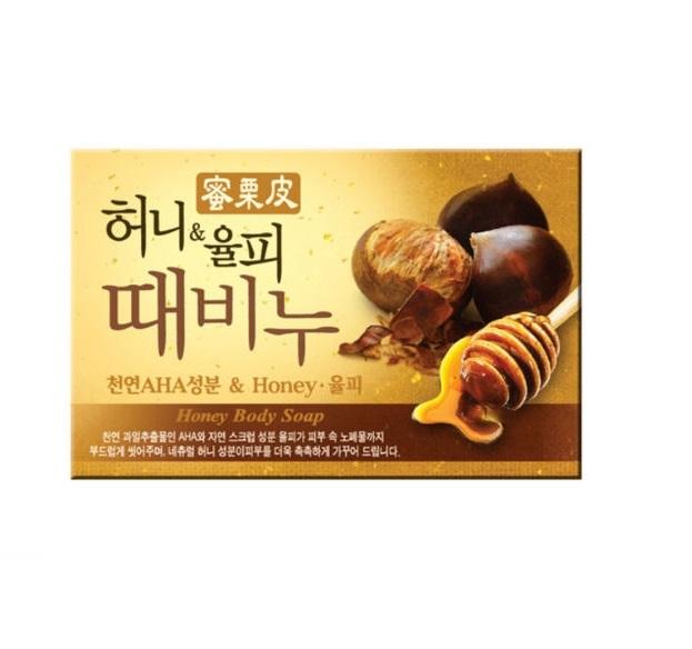 Mukunghwa Honey and Chestnut Scrub Body Soap