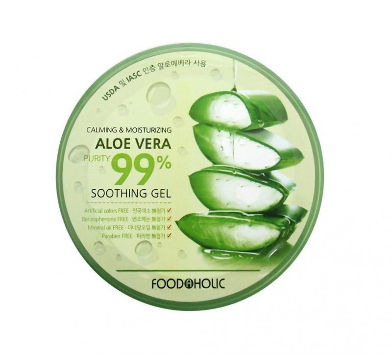 Многофункциональный гель алоэ Foodaholic Calming and Moisturizing Aloe Vera Soothing Gel