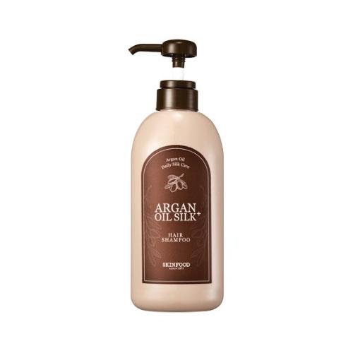 Шампунь с арганой и шёлком SKINFOOD Argan Oil Silk Plus Hair Shampoo масло kativa morocco argan oil nuspa масло