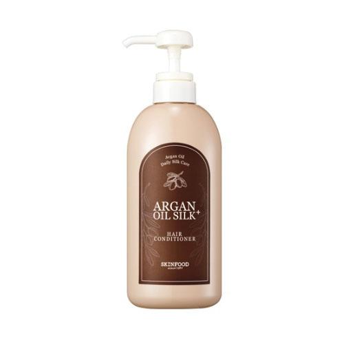 Кондиционер с арганой и шёлком SKINFOOD Argan Oil Silk Plus Hair Conditioner масло kativa morocco argan oil nuspa масло