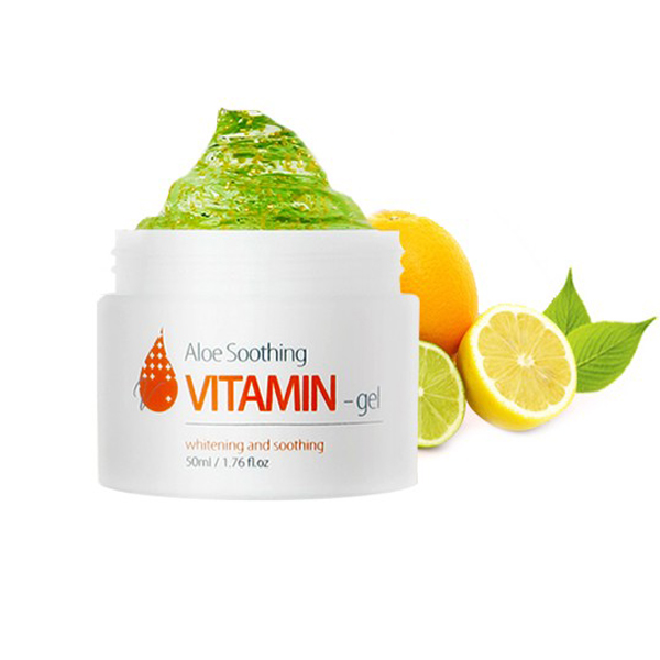 Витаминный гель c алоэ The Skin House Aloe Soothing Vitamin Gel гели llang универсальный гель с экстрактом рапсового меда on the skin soothing gel canola honey
