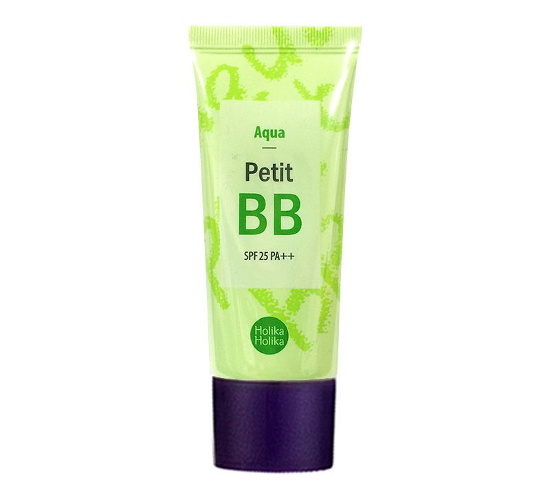 BB крем с экстрактом зеленого чая Holika Holika Petit BB Cream Aqua тональный крем holika holika сс face 2 change cc cream 02