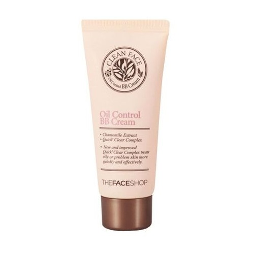 BB крем для жирной кожи The Face Shop Clean  Oil Control  Cream