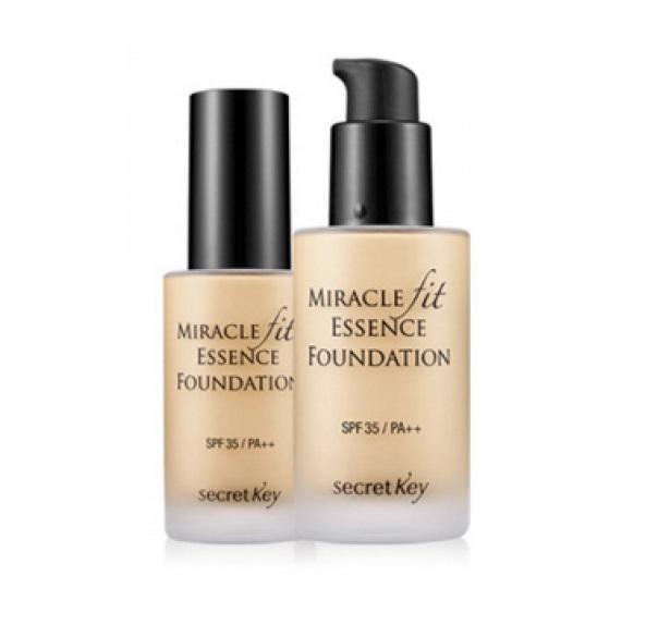 Жидкая тональная основа Secret Key Miracle Fit Essence Foundation secret key miracle fit essence foundation light beige тональная основа жидкая тон 21 30 мл