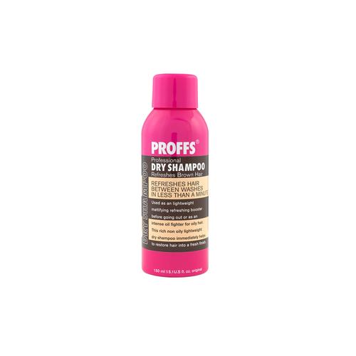 Сухой шампунь для тёмных волос Proffs  Dry Shampoo Brown