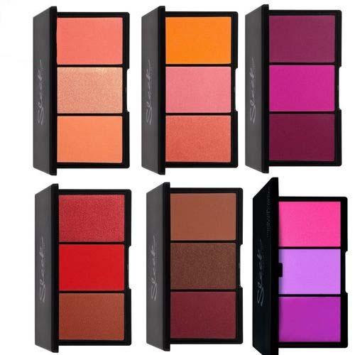 Палетки румян Sleek MakeUp Sleek MakeUp Blush By 3 sleek makeup румяна в палетке blush by 5 оттенка румяна в палетке blush by 4 lace