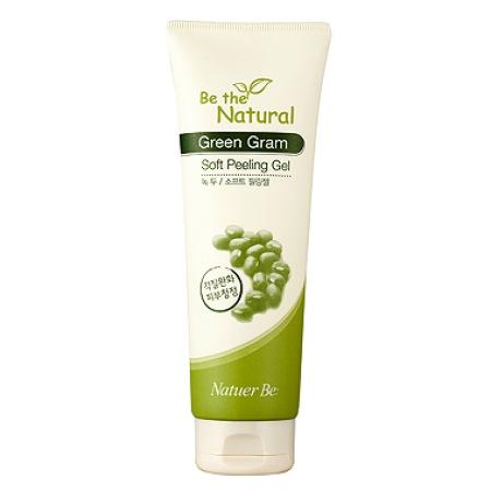 Пилинг с экстрактом бобов мунг Enprani Natuer Be Natural Green Gram Soft Peeling Gel