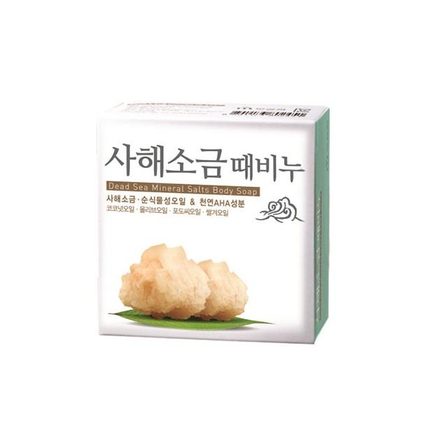 Мыло с солью мёртвого моря Mukunghwa Dead Sea Mineral Salts Body Soap