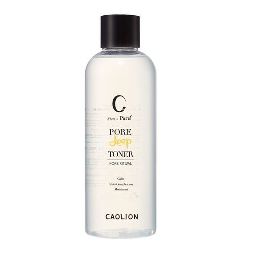Тонер для лица Caolion Pore Deep Toner 300ml маска caolion pore blackhead eliminating t zone strip
