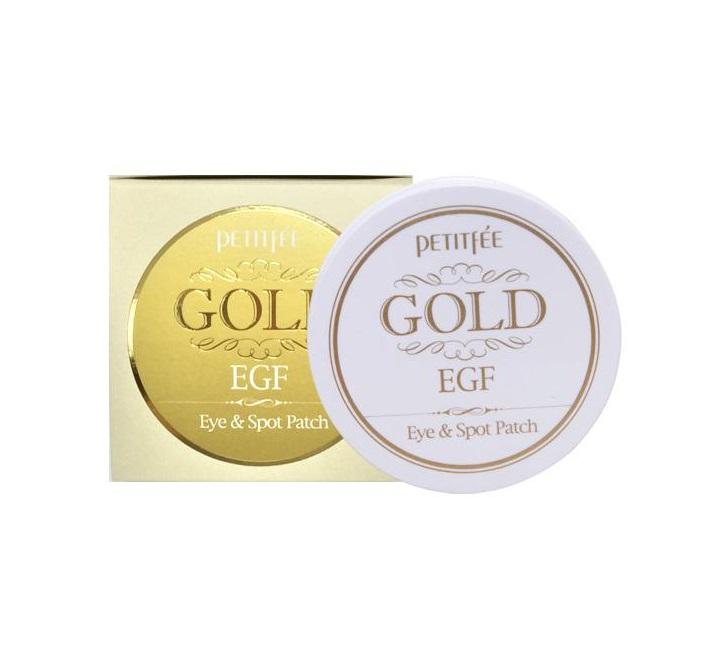 Гидрогелевые патчи с золотом Petitfee Premium Gold and EGF Eye Patch патчи с жемчугом и золотом petitfee black pearl and gold hydrogel eye patch