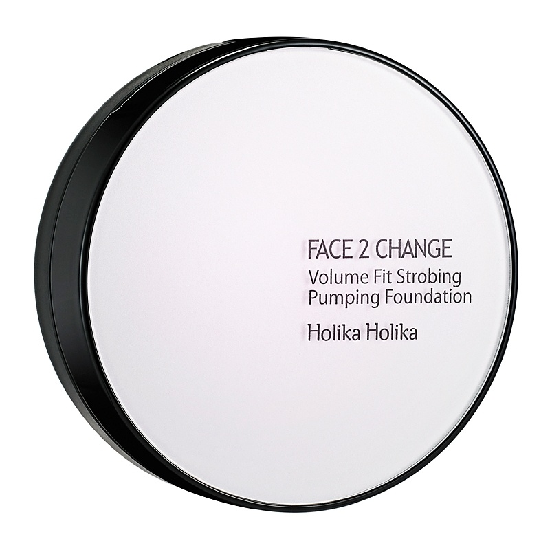Holika Holika Face 2 Change Volume Fit Strobing Pumping Foundation