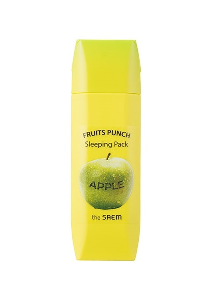 Ночная маска для лица Яблочный пунш The Saem Fruits Punch Apple Sleeping Pack маска the saem punch sleeping pack peach sleeping pack