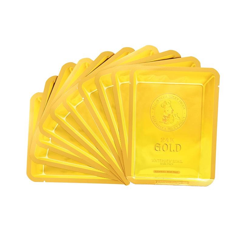 Маска с золотом и экстрактом улитки Elizavecca 24k Gold Water Dew Snail 10pcs lot up6204bj qfn 40