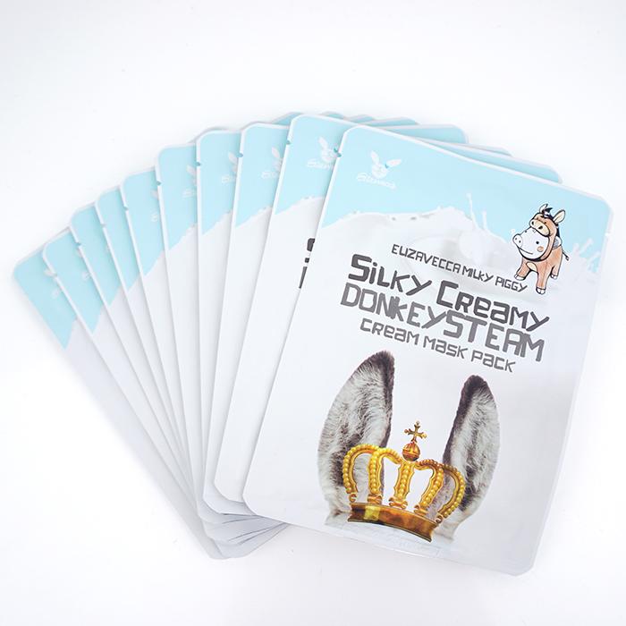 Маска с паровым кремом на ослином молоке Elizavecca Milky Piggi Silky Creamy Donkey Steam Cream Mask Pack маска elizavecca deep power ringer mask pack vita