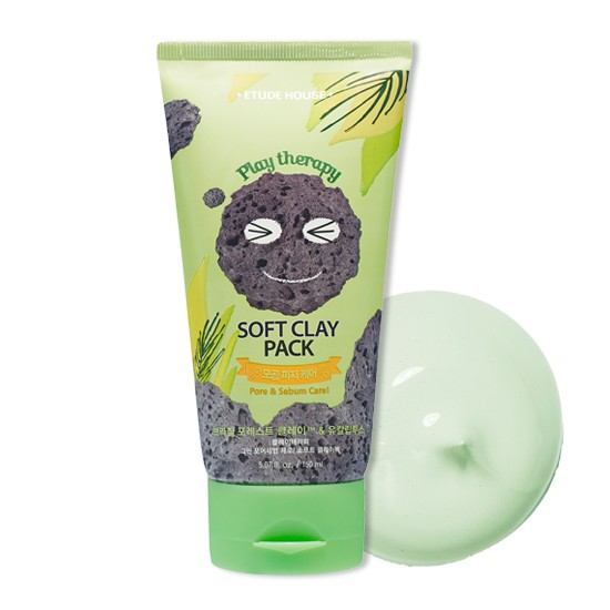 Глиняная маска Etude House Play Therapy Soft Clay Pack