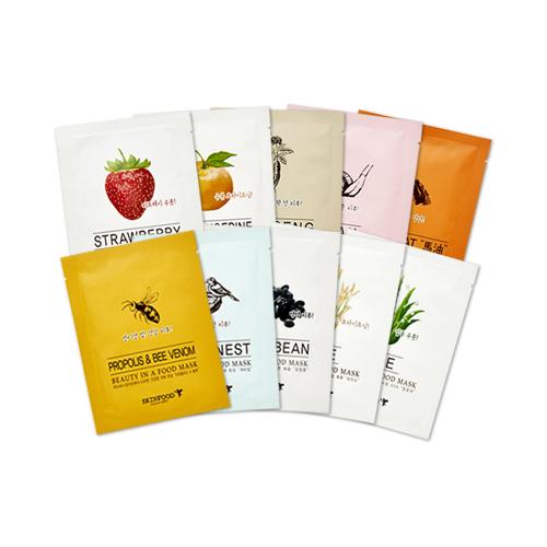 все цены на Линейка тканевых масок SKINFOOD Beauty In a Food Mask Sheet
