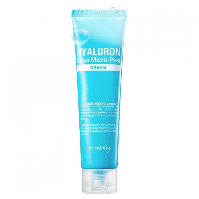 Крем с гиалуроновой кислотой Secret Key Hyaluron Aqua Micro-Peel Cream подводная камера aqua vu micro plus dvr