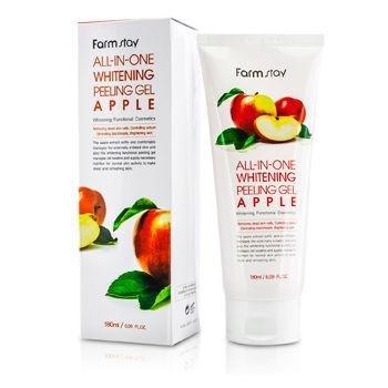 Купить со скидкой Осветляющий пилинг-скатка с экстрактом яблока и киви Farmstay