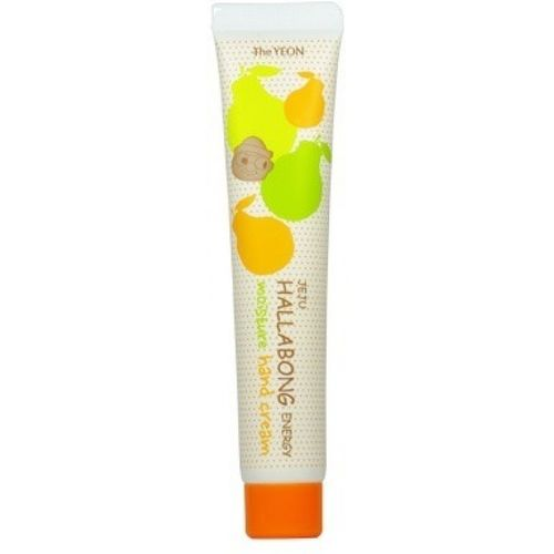 Крем для рук The Yeon Jeju Hallabong Energy Moisture Hand Cream the yeon soapy hand perfume clean крем для рук парфюмированный 30 мл