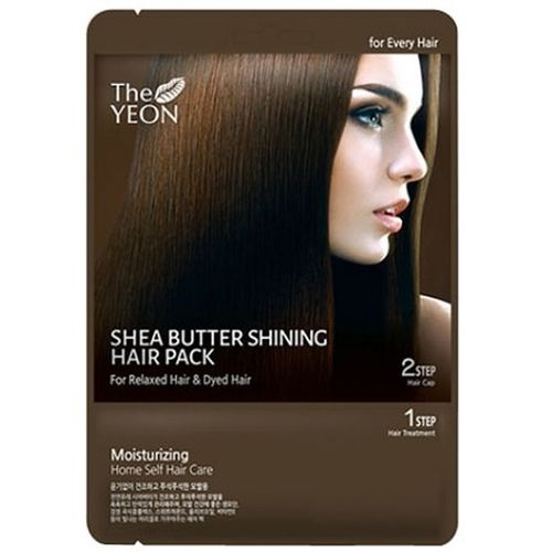 Маска для волос с маслом ши The Yeon Shea Butter Shining Hair Pack the yeon canola honey silky hand cream крем для рук с экстрактом меда канола 50 мл