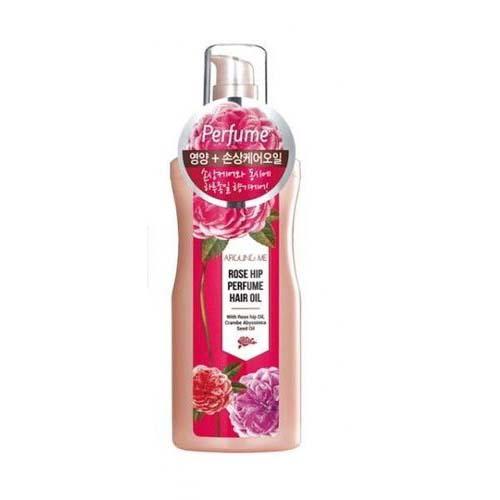 Парфюмированное масло для волос Welcos Around Me Rose Hip Perfume Hair Oil