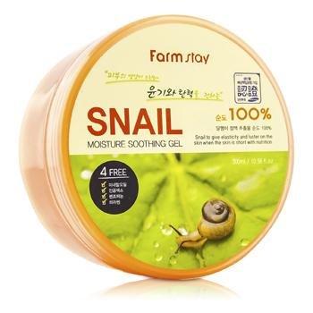 Многофункциональный улиточный гель Farmstay Snail Moisturizing Soothing Gel