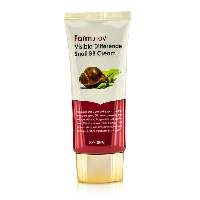 Улиточный BB крем Farmstay Visible Difference Snail BB Cream вв крем успокаивающий и смягчающий skin79 angry cat bb cream