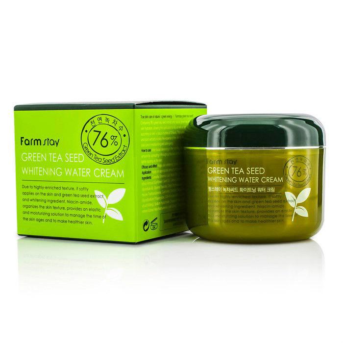 Осветляющий крем с зеленым чаем Farmstay Green Tea Seed Whitening Water Cream seed dormancy and germination