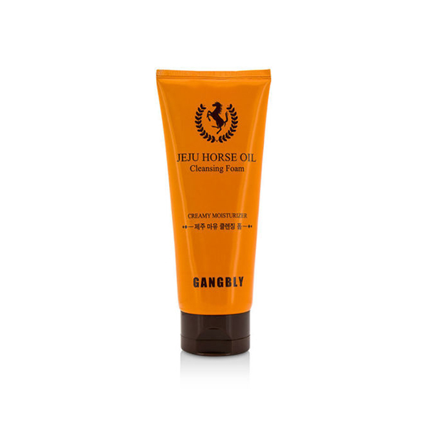 Пенка с конским жиром Farmstay Gangbly Jeju Horse Oil Cleansing Foam