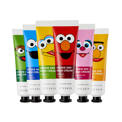 Крем для ухода за кожей рук Its Skin Cookie and Hand Cream Special Edition