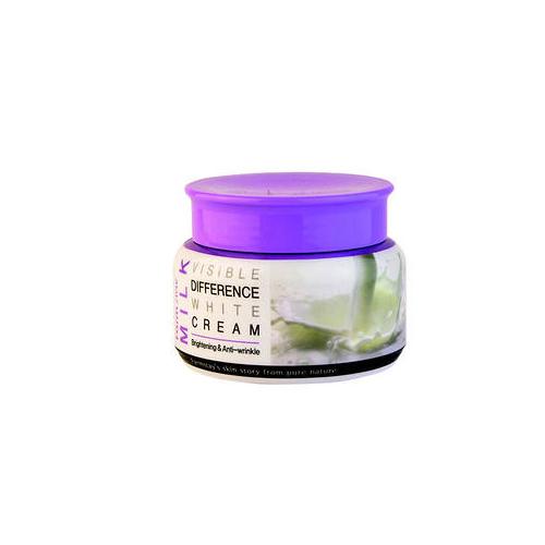 Осветляющий крем с молочным экстрактом Farmstay Visible Difference White Milk Cream