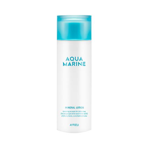 Лосьон для лица с морской водой A'Pieu Aqua Marine Mineral Lotion лосьоны aqua mineral лосьон бархатистый для тела и рук ночная магия