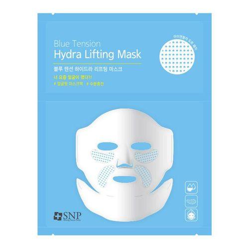 Увлажняющая тканевая лифтинг-маска с патчами SNP Blue Tension Hydra Lifting Mask