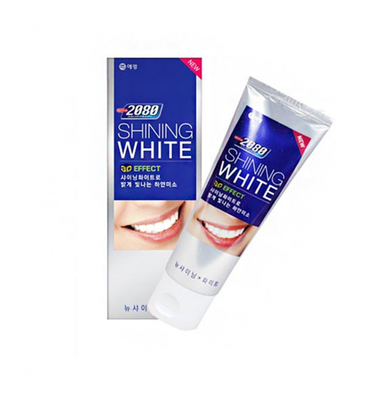 Отбеливающая зубная паста Kerasys DC 2080 Shining White мультивитаминная зубная паста kerasys dc 2080 vita care