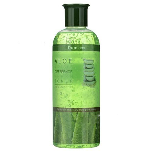 Освежающий тонер для лица Farmstay Visible Difference Fresh Aloe Toner