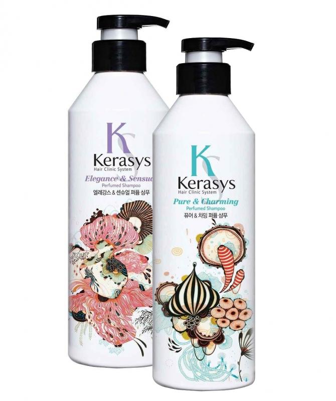 Линейка парфюмированных шампуней Kerasys Elegance and Sensual Perfumed Shampoo 600ml шампунь kerasys ks 600ml