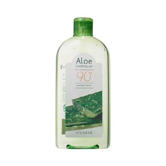 Гель с экстрактом алоэ вера It's Skin Aloe 90% Soothing Gel 320 ml гели llang универсальный гель с экстрактом рапсового меда on the skin soothing gel canola honey