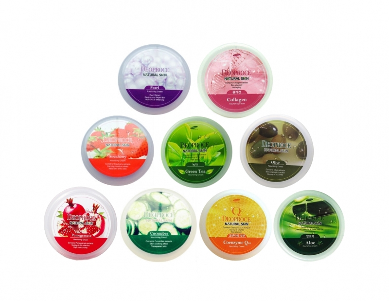 Питательный крем Deoproce Natural Skin Nourishing Cream тоник deoproce essential skin softener