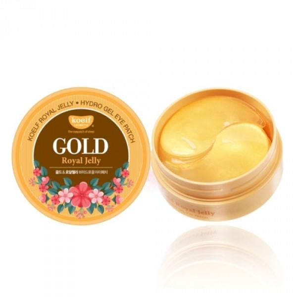 Многофункциональные гелевые патчи для глаз Petitfee Koelf Gold Royal Jelly Hydro Gel Eye Patch