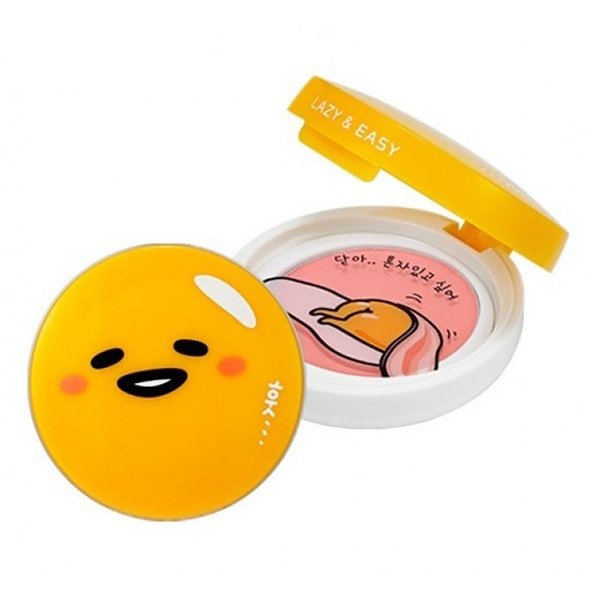 Гелевые румяна Holika Holika Gudetama Lazy And Easy Jelly Dough Blusher сопутствующие товары holika holika gudetama lazy