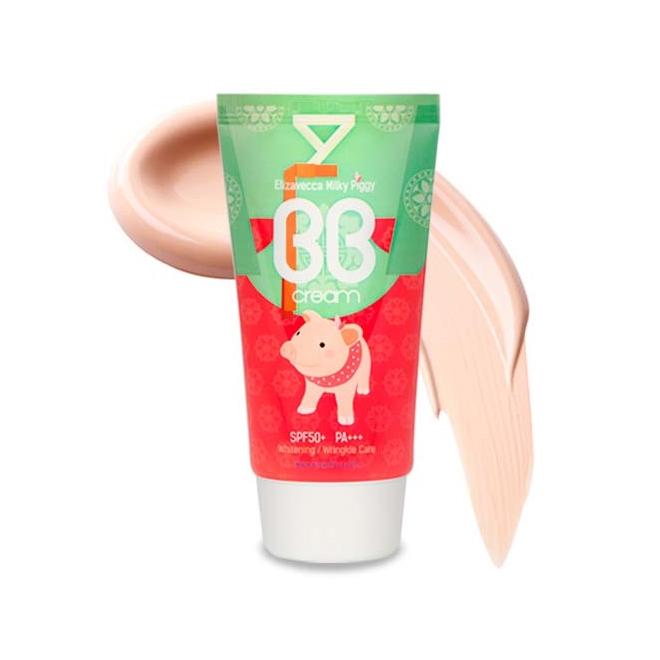 Многофункциональный BB крем Elizavecca Milky Piggy BB Cream крем elizavecca milky piggy moisture sparkle cream объем 100 мл page 9