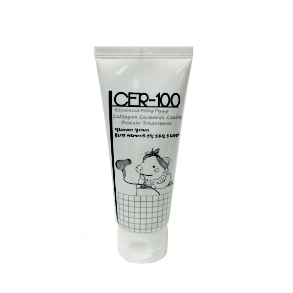 Восстанавливающая маска для волос с коллагеном Elizavecca CER-100 Collagen Ceramid Coating Protein Treatment