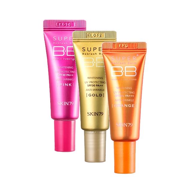 Сет из трех BB кремов Skin79 Super Plus BB Cream Best 3 Set сет из трех bb кремов skin79 super plus bb cream best 3 set